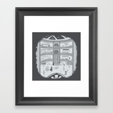 Darth Mall Framed Art Print
