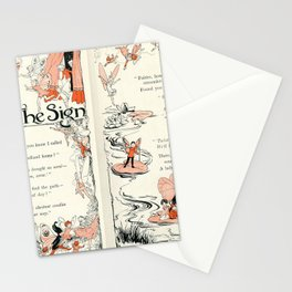 The Sign a Fairy poem Stationery Cards