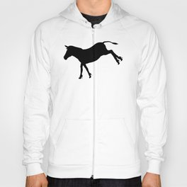 Who Says Donkeys Don't Need Shoes?! - Funny Conceptual Art Hoody