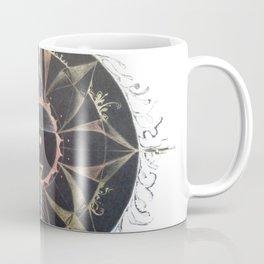 Saraswati Mandala White Coffee Mug