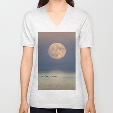 Spring Moonrise Unisex V-Neck