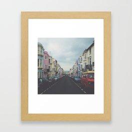 Brighton Houses Framed Art Print