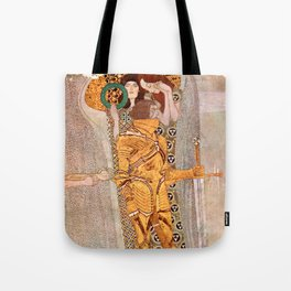 Gustav Klimt The Golden Knight Tote Bag