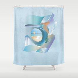 Summer! Water! Sport! Shower Curtain