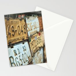 Plates of R.D. Stationery Cards
