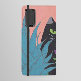 Jungle Cat Android Wallet Case