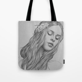 Patience - a digital drawing Tote Bag