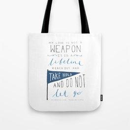 Redeeming Love Tote Bag