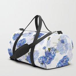Cape Cod Hydrangea Nosegays Duffle Bag