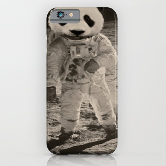 One Small Step For Man, One Giant Panda For Mankind iPhone & iPod Case