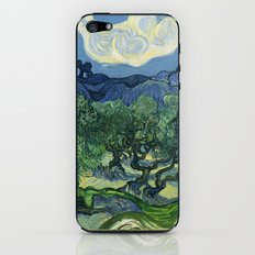 Olive Trees by Vincent van Gogh iPhone & iPod Skin