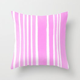 stand-up pink Throw Pillow