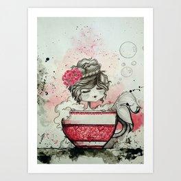 Little Mermaid - Sirenita Art Print