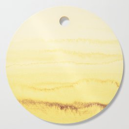 WITHIN THE TIDES - SUNNY YELLOW Cutting Board