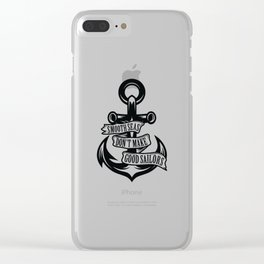 Smooth Seas Clear iPhone Case