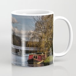 Below The Weir at Pangbourne Coffee Mug