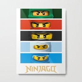 ninjago Metal Print