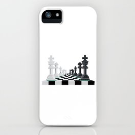 Chess Board Game Game Master King Queen Rook Pawn iPhone Case