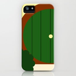 A Hole in the Ground iPhone Case