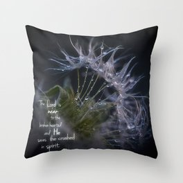 The Lord is Near Throw Pillow