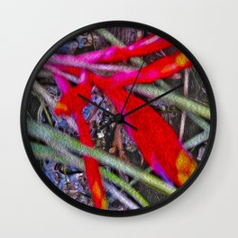 Bromeliad in the Cathedral Wall Clock