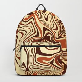 Milk and Chocolate Marble Backpack