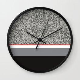 BLACK CEMENT Wall Clock