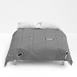 Fractal Op Art 5 Comforters