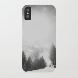 Blowing Snow iPhone Case