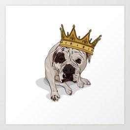 Queen Zoe Art Print