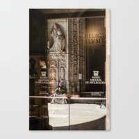 religion Canvas Prints featuring RELIGION by Sébastien BOUVIER