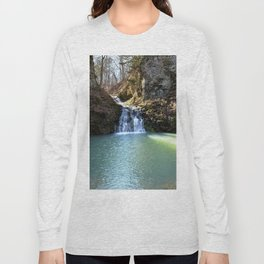 Alone in Secret Hollow with the Caves, Cascades, and Critters, No. 3 of 21 Long Sleeve T-shirt