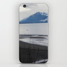 Solitude :: A Lone Kayaker iPhone & iPod Skin