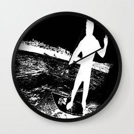 L.A. surfer Wall Clock