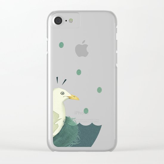 Sorry, what?! Clear iPhone Case