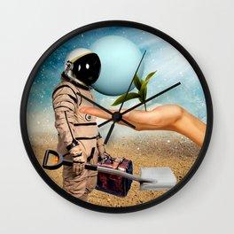 TERRAFORMER (big things have small beginnings) Wall Clock