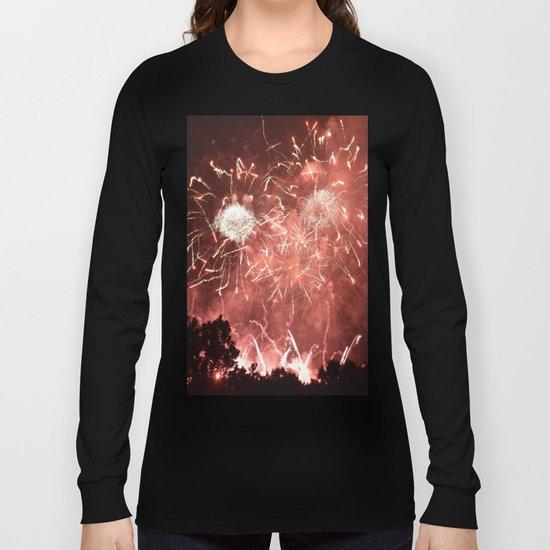Fireworks1 Long Sleeve T-shirt