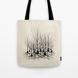 Pyramidal Neuron Forest Tote Bag
