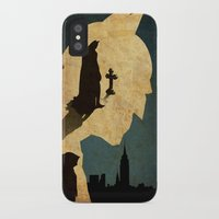 bat man iPhone & iPod Cases featuring BAT MAN  by Edmond Lim
