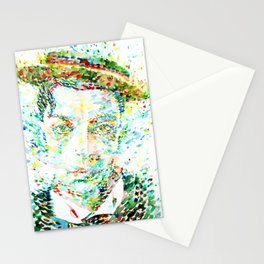 BUSTER KEATON - watercolor portrait Stationery Cards