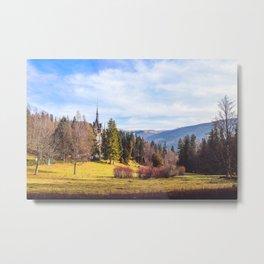 Romanian Countryside Metal Print