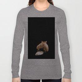 Sulky Cat Long Sleeve T-shirt