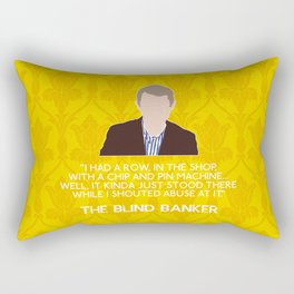 The Blind Banker - John Watson Rectangular Pillow