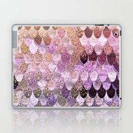 SUMMER MERMAID MOONSHINE  GOLD 2 Laptop & iPad Skin