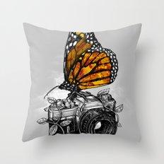 Nature Photography Throw Pillow
