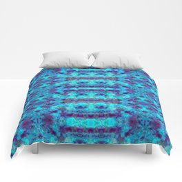 Batik Inspiration Blues Comforters