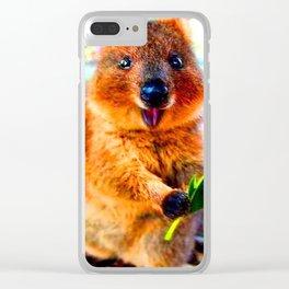 CUTE VELOCE Clear iPhone Case
