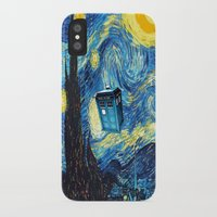 starry night iPhone & iPod Cases featuring STARRY by MiliarderBrown