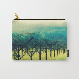 Winter Vineyard I - Serenity Carry-All Pouch