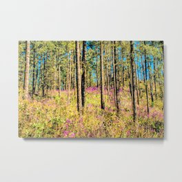 WOODN'T IT BE LOVELY Metal Print